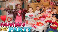 It's time for the kids' annual Valentine's Day party! Alyssa has decorated the playhouse and playroom just in time for all the guests to arrive to the party. Fun Valentines Day Ideas, Easy Valentine Crafts, Valentine Day Cupcakes, Valentine Day Boxes, Valentines Day Couple, Valentine Day Special, Kids Valentines, Valentine's Day Party Games, Kitty Party Games