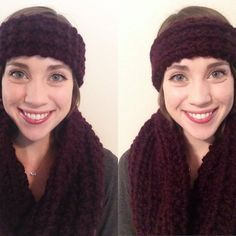 Six Pines Set  Cowl and Headband by ChandlerKnits on Etsy