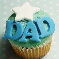 Cupcakes for Dad Fathers Day Cupcakes, Fathers Day Cake, Birthday Cupcakes, Cupcake Bakery, Cupcake Cookies, Cupcake Images, Cupcake Ideas, Dessert Ideas, Holiday Cupcakes