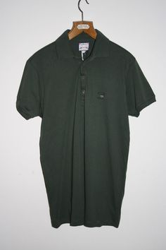 Diesel Co Polo Shirt Size XXL Military Green Fashion Designer Cotton Metal Logo