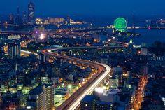 Osaka Bayarea Skyline | Osaka, Japan. | Yuya Horikawa | Flickr
