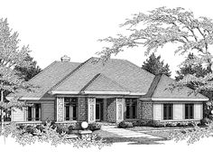 Relaxing Single Story Home. Like the layout with bedrooms.