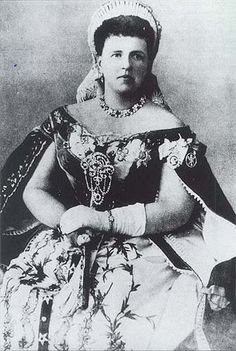 Grand Duchess Maria Alexandrovna of Russia, Duchess of Edinburgh & Duchess of Saxe-Coburg-Gotha.