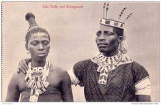 Zulu Bride and Bridegroom