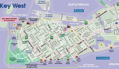 Key West beach map---Smathers Beach Key West Beaches, Key West Resorts, Key West Vacations, Dream Vacations, Florida Travel, Florida Keys, Miami Florida, Key West Map, Holland Map