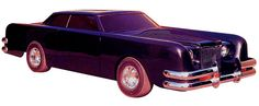 """1971 Lincoln Continental Mark III from """"The Car"""" (Modified by George Barris)"""