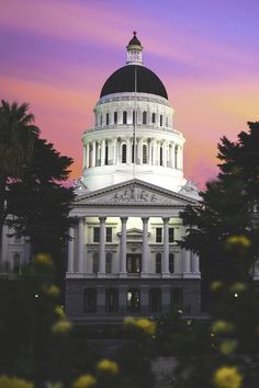 motivationsforlife:California Capitol Sunset by Christopher...