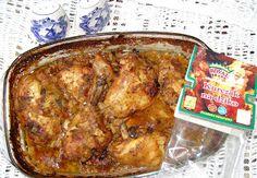 W Mojej Kuchni Lubię.. : uda kurczaka w jogurtowych pomidorach i w przypraw...