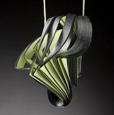 Lydia Hirte 2010,Jewellery Sculptures Paper Art; photo: Jürgen Kossatz fine drawing card, drawing and calligraphic ink;