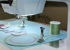 Tutorial: how to use the BERNINA circular embroidery attachment