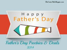 #FathersDay Freebies & Discounts for 2014