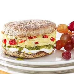 Vegetarian Breakfast Sandwich Idea you can have ready in 5 minutes