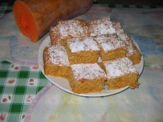 Heni modern konyhája: Sütőtökös kevert süti Krispie Treats, Rice Krispies, Hungarian Cake, French Toast, Muffin, Food And Drink, Paleo, Bread, Cookies
