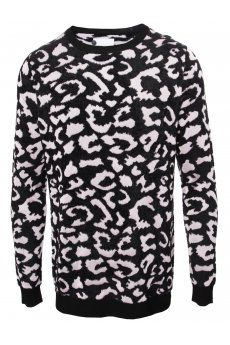 Jacquard Leopard Print Jumper in pink new in at Hervia from the Sibling AW13 menswear collection. SHOP NOW. http://www.hervia.com/jacquard-leopard-print-jumper-pink-p11297 #Hervia #Fashion #AW13 #Sibling #Knitwear #Leopard