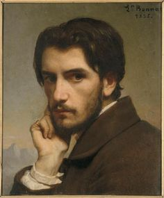 "srednod:  "" Автопортрет  Леон Бонна  1835  """