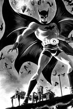 Batman by Dave Bullock