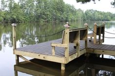 Lake Dock, Boat Dock, Building A Dock, Lake Landscaping, Farm Pond, Ponds Backyard, Backyard Pergola, Floating Dock, Garden Storage Shed