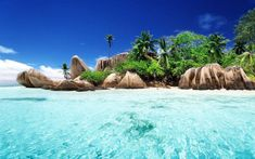 Anse Source d'Argent beach-la digue island-mahe Seychelles Les Seychelles, Seychelles Beach, Seychelles Islands, Praslin Seychelles, Most Beautiful Beaches, Beautiful Places, Beautiful Islands, Amazing Places, Sailing Cruises