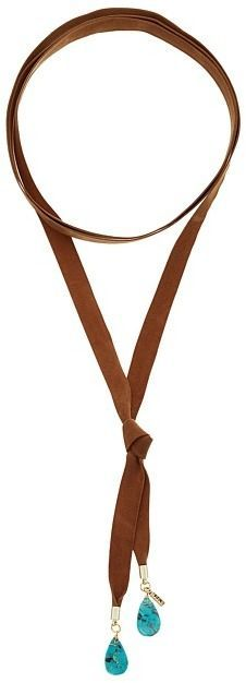 Vanessa Mooney The Stage Coach Bolo Necklace