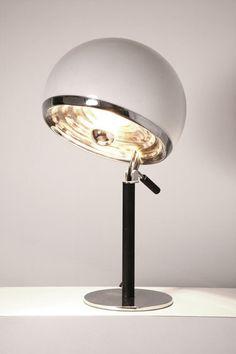 Vittorio Gregotti, Lodovico Meneghetti and Giotto Stoppino; 'Bino' Table Lamp for Candle, 1969.