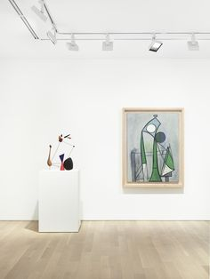 """Installation View: """" Calder and Picasso"""" at , Almine Rech Gallery, New York, 2016 All works by Alexander Calder © 2016 Calder Foundation, New York / Artists Rights Society (ARS), New York. All works by Pablo Picasso © 2016 Estate of Pablo Picasso / Artists Rights Society (ARS), New York"""