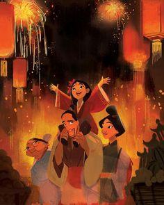 Mulan criança com a família dela Disney's Voir Mulan 2020 Film Complet En Français, Voir Mulan Film . Disney Marvel, Disney Nerd, Arte Disney, Disney Fan Art, Disney Love, Disney Magic, Disney E Dreamworks, Disney Pixar, Film Disney