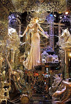 NYC ♥ NYC: Bergdorf Goodman Christmas Holiday Window Display 2009: A COMPENDIUM OF CURIOSITIES