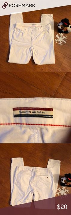 *ON SALE*. Tommy Hilfiger White Skinny Jeans! 👖 White skinny jeans. Worn only once. Tommy Hilfiger Jeans Skinny