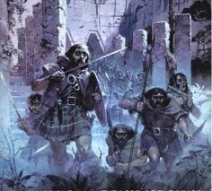 Angus MacBride: The Oathbreakers. AKA: Dead Men of Dunharrow