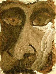 Título: Contemplación Autor: Francisco Espejel Gonzalez Técnica: Mixta; tinta, acuarela, acrílico