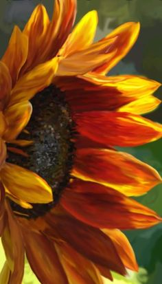 What is Your Painting Style? How do you find your own painting style? What is your painting style? Acrylic Painting Flowers, Watercolor Flowers, Watercolor Art, Art Floral, Sunflower Art, Sunflower Paintings, Paintings Of Sunflowers, Sunflower Drawing, Red Sunflowers