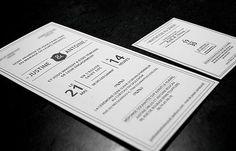 faire-part création mariage letterpress