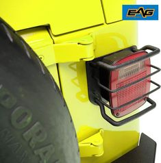 Jeep Wrangler Accessories - EAG Black Textured Off Road Taillight Tail Light Guards Steel Protector Fit for 87-06 Jeep Wrangler TJ YJ C10 Chevy Truck, Lifted Ford Trucks, Chevy Trucks, Jeep Wrangler Tj Accessories, Jeep Wrangler Lights, Jeep Tj, Adventure Gear, Camaro Ss, Bugatti Veyron