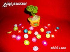 Trébol de la suerte Crochet Earrings, Jewelry, The Creation, Amigurumi, Jewlery, Jewerly, Schmuck, Jewels, Jewelery