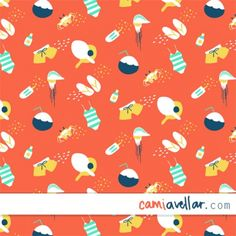 Camilla Avellar | Make It In Design | Surface Pattern Design | Summer School | Tropical Paradise