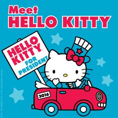 Meet Hello Kitty and support the Friendship Party!                                                                                                                                                                                 More