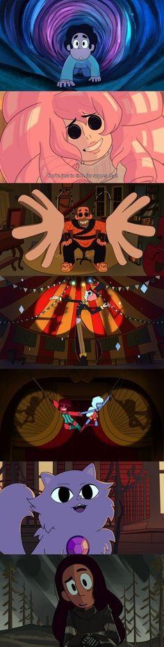 Coraline & Steven - Crossover