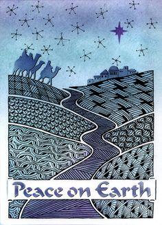 Blue mist Peace on Earth zentangle | Flickr - Photo Sharing!