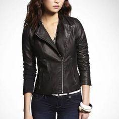 [Express] (Minus The) Leather Moto Jacket