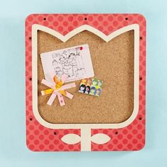 Hang Up On the Tulip Corkboard - modern - kids decor - by The Land of Nod