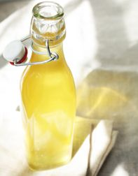Limoncello    TT Test Kitchen Tip: Store finished limoncello in the freezer for quick and easy access. Because the vodka used in this recipe is 100-proof, the limoncello won't turn to ice in the freezer.