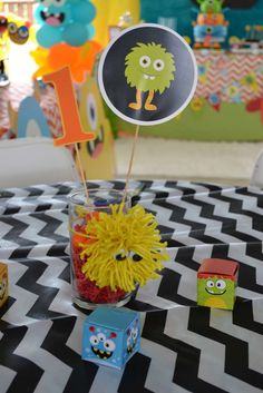 Monsters Birthday Party Ideas | Photo 1 of 32