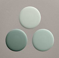 Silver Sage Paint Collection by Restoration Hardware- idea for living room with seafoam furniture?