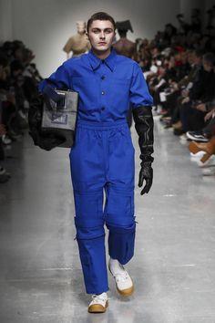 Xander Zhou Menswear Fall Winter 2017 London
