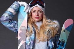 Российская горнолыжная одежда, купить женские горнолыжные костюмы и мужские пуховики в интернет магазине.