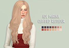 Sims 4 Cc Packs, Sims 4 Mm Cc, Loose Dreads, Prom Songs, Rogue Hair, Sims 4 Anime, Pelo Sims, Sims Hair, Strapless Cocktail Dresses