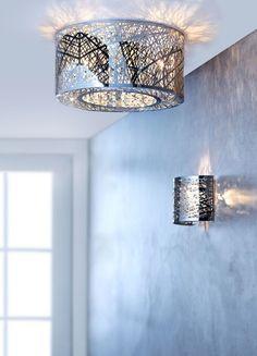 Deckenleuchte Design, Deckenlampe Modern, Deckenleuchte Metall
