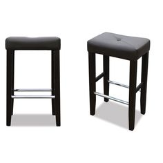 Jr Home Collection Barcelona Bar Stool 2 Pack Espresso If St