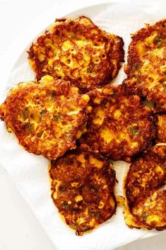 Simply made with fresh corn, flour, buttermilk, a bit of sugar and spice and a whole lot of love, these Corn Fritters fry up quickly and taste amazing! Each bite of fritter is a touch sweet and a bit savory in all the best ways. #corn #cornfritters #fritters #corncakes Corn Fritters, Apple Fritters, Southern Fried Corn, Southern Dinner, Corn Cakes, Veggie Side Dishes, Frozen Corn, Sugar And Spice, Soul Food