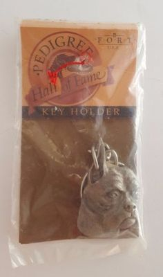 Boxer Dog Fine Pewter Keychain; Key holder; Unopened; Lead free Fort USA Vintage in Collectibles, Animals, Dogs, Boxer | eBay